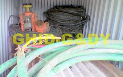Cable waste with copper